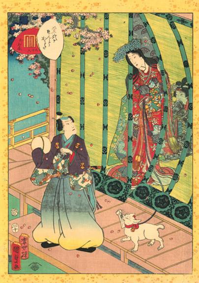 05_Kunisada II_No. 36, Kashiwagi