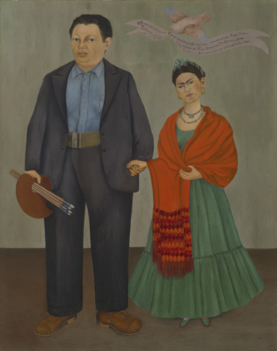 image-248Frieda and Diego Rivera - Frida (Frieda) Kahlo,