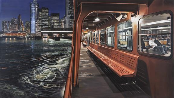 Staten-Island-Ferry-Arriving-Manhattan