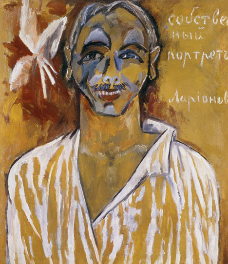 1. Larionov, Self Portrait