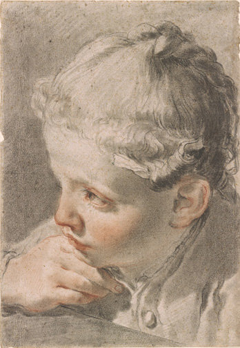Gandolfi, Gaetano, 1734-1802, Portrait of the Artist's Daughter Marta [drawing], ca. 1778, 1986.45