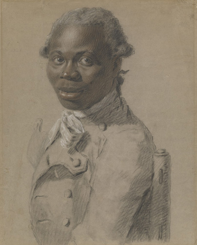 Joseph Ducreux, Portrait of a Gentleman, said to be Toussaint Louverture, 2012.23