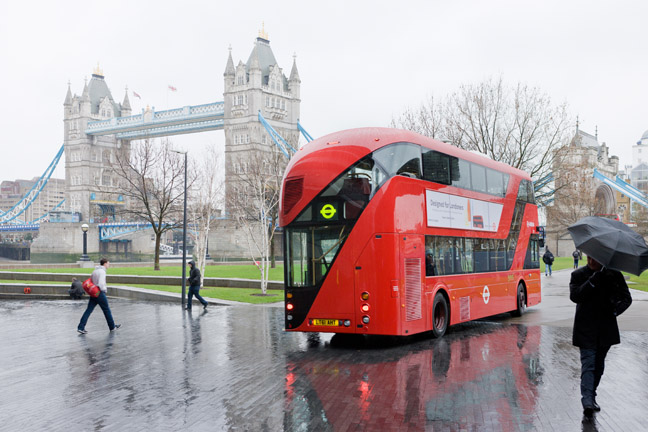 New Bus for London, 2010-2012, Heatherwick Studio. Photo: Iwan Baan
