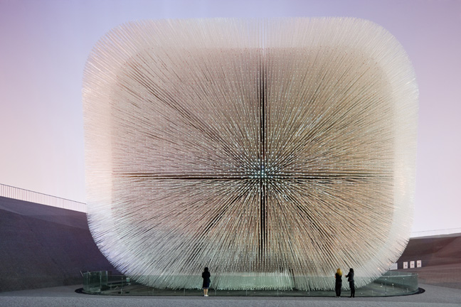 UK Pavilion, Shanghai, China, 2007-2010, Heatherwick Studio. Photo: Iwan Baan