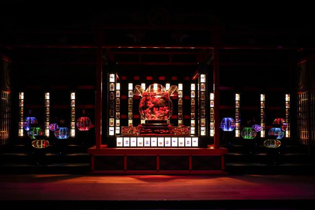 Art Aquarium_Oiran1_la cortigiana del Periodo Edo
