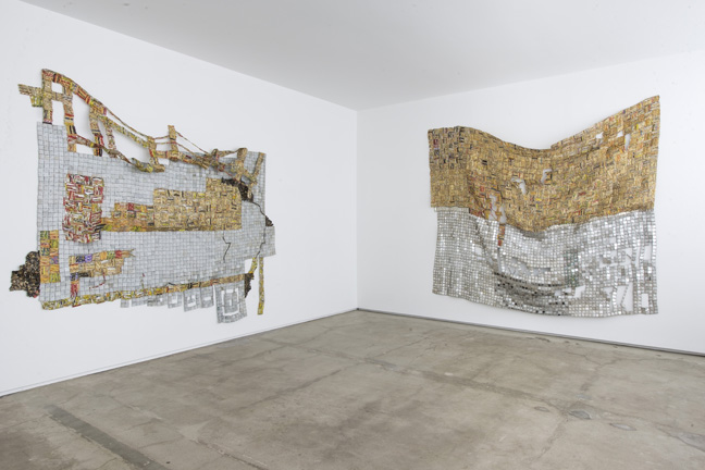 EA14.021 EA14.016 (installed 2015 El Anatsui FiveDecades TheSchool) HR