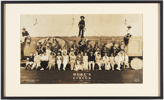 1.GROUPS Kelty, Hunt's Three Ring Circus 1921