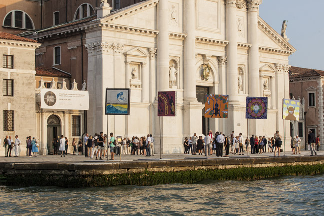 Imago Mundi, Map of the New Art, at Fondazione Giorgio Cini, Venezia. September 2015 (Photo by Marco Zanin/FABRICA)