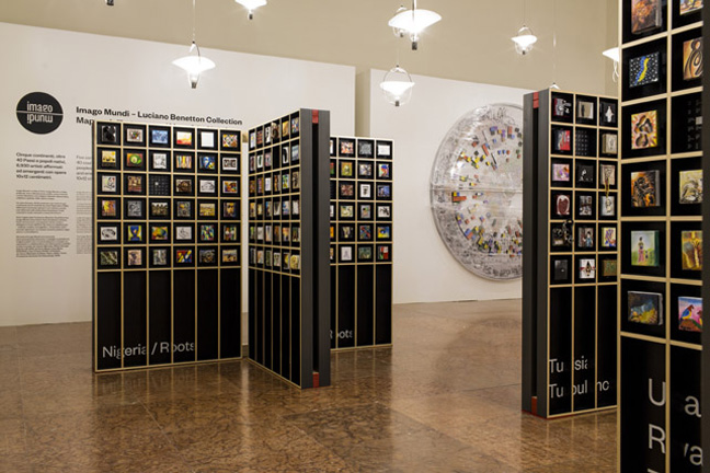 Imago Mundi, Map of the New Art, at Fondazione Giorgio Cini, Venezia. September 2015 (Photo by Marco Pavan/FABRICA)