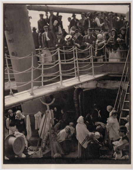 2000-6,The Steerage,Artist: Stieglitz, Photographer:John Parnell, Photo © The Jewish Museum, New York