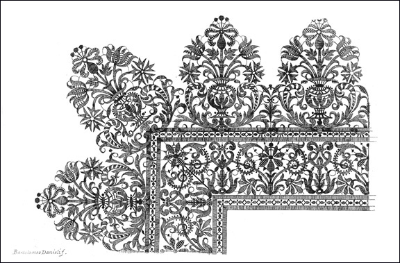 1. Fashion and Virtue_Danieli_Plate with Lace Design from Vari disegni di merletti_MMA