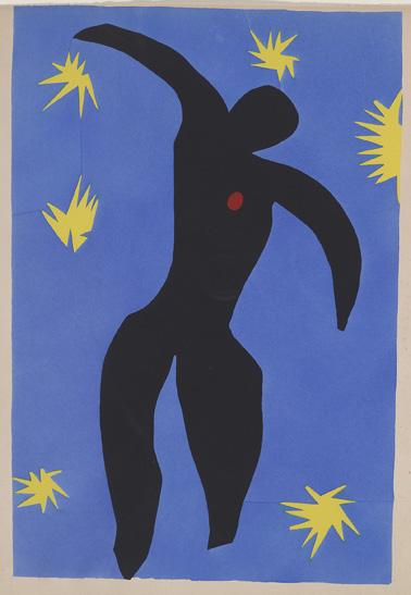 Matisse, Henri, 1869-1954. Icare (Jazz, pl. VIII) [Paris : Teriade, 1947] 2007.77h