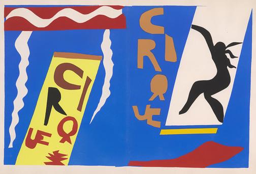 Matisse, Henri, 1869-1954. Le Cirque (Jazz, pl. II) [Paris : Teriade, 1947] 2007.77b
