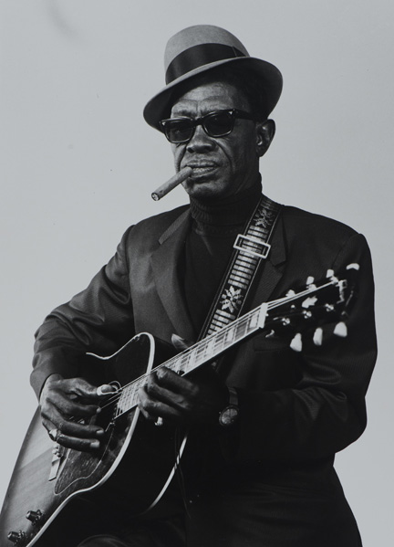 6 Lightnin_Hopkins. Copyright Benny Joseph