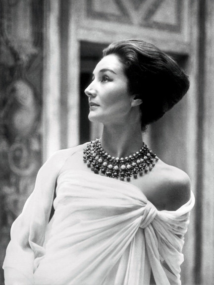 01.Jacqueline de Ribes by Roloff Beny, 1959