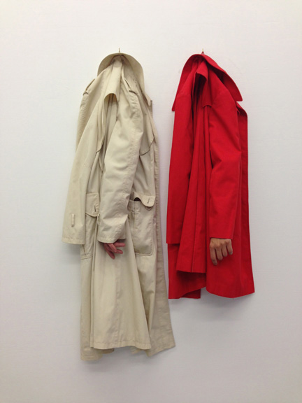 Hanging Sleeves, Hiding Hands, made in collaboration with Eva Ko