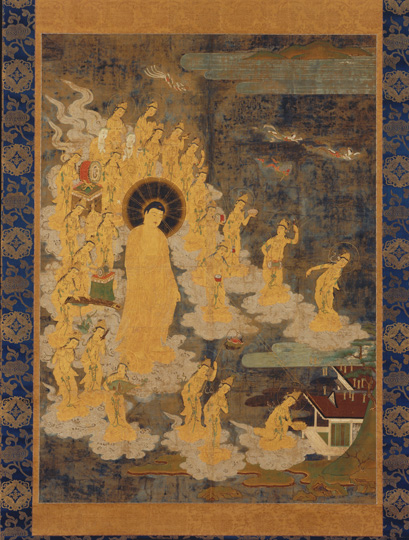 14 Descent of Amida Buddha