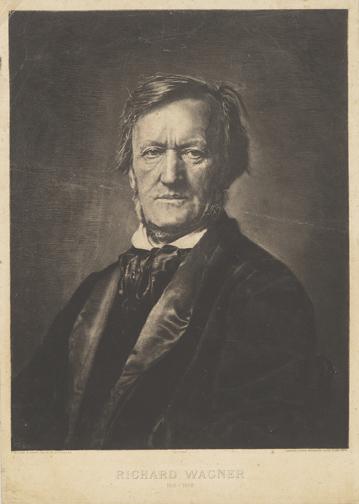 Egusquiza Barrena, Rogelio de, 1845-1915. Richard Wagner, 1813-1883 [1883] MMP W134.6