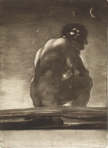 3. Goya, Seated Giant-300