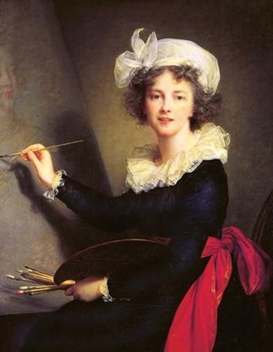 1. Vigée Le Brun_Self-portrait_1790_Uffizi Gallery_Florence