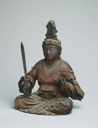 10 Seated Monju Bosatsu