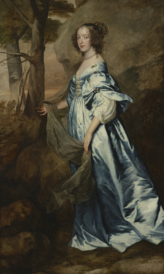 Anthony van Dyck (1599 - 1641) Anne, Countess of Clanbrassil, 1636 Oil on canvas (lined) 83 1/2 x 50 1/4 in. (212.1 x 127.6 cm) Henry Clay Frick Bequest Accession number: 1917.1.37