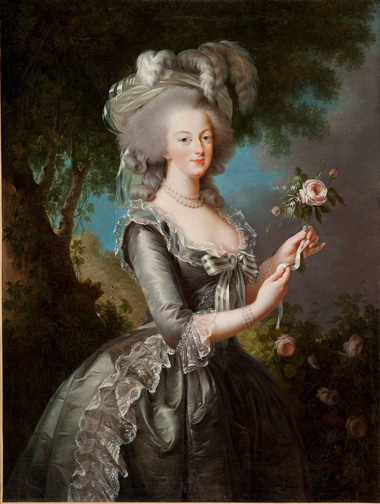 2. Vigée Le Brun_Marie Antoinette with a Rose_1783_Lynda and Stuart Resnick