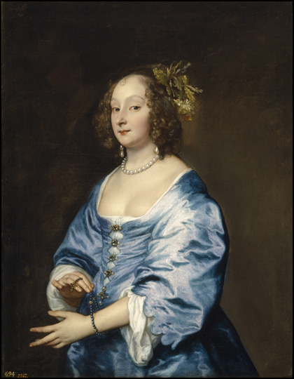 Anthony van Dyck (1599–1641) Mary, Lady van Dyck, née Ruthven, ca. 1640 Oil on canvas Museo Nacional del Prado, Madrid
