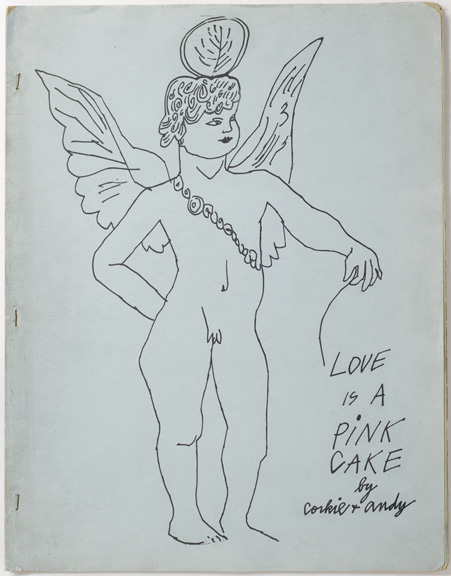 Ward, Ralph Thomas. Love is a pink cake / [New York : s.n., 1952], front cover, PML 196141