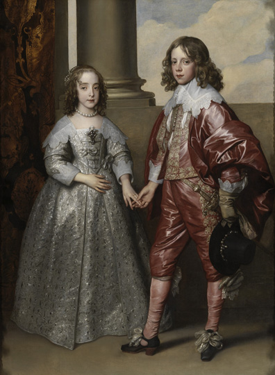 Anthony van Dyck (1599–1641) Prince William of Orange and Mary, Princess Royal, 1641 Oil on canvas Rijksmuseum, Amsterdam