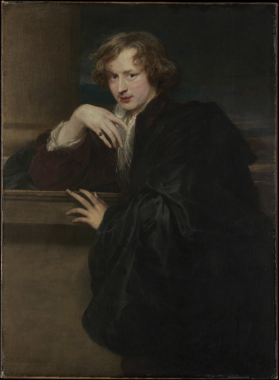 Anthony van Dyck (1599–1641) Self-Portrait, ca. 1620–21 Oil on canvas The Metropolitan Museum of Art