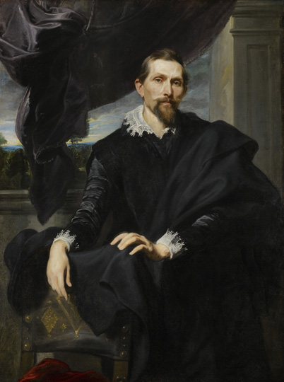 Sir Anthony Van Dyck (1599 - 1641) Frans Snyders, c.1620 oil on canvas 56 1/8 in. x 41 1/2 in. (142.56 cm x 105.41 cm) Henry Clay Frick Bequest. Accession number: 1909.1.39