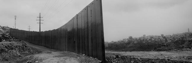 Josef Koudelka (Czech, born 1938). Detail from Wall: Israeli & Palestinian Landscape 2008-2012 (ShuÕfat refugee camp, overlooking Al ÔIsawiya, Jerusalem), 2008Ð12. Pigment print, 32 7/8 x 100 in. (83.5 x 254 cm). © Josef Koudelka/Magnum Photos