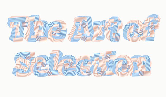 Kyuha Shim (Korean, active in United Kingdom, b. 1982); Iteration, from Grid Brush: The Art of Selection typeface generator, 2014; 42 × 59.4 cm (16 9/16 × 23 3/8 in.)
