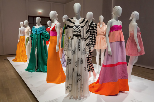 Installation view of the exhibition Isaac Mizrahi: An Unruly History, March 18-August 7, 2016.