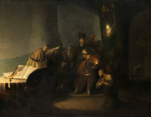 1. Rembrandt's First Masterpiece