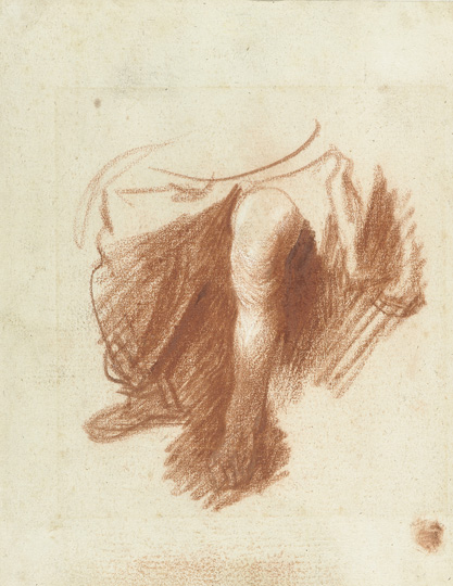 4. Study of a Seated Figure (recto), ca. 1629