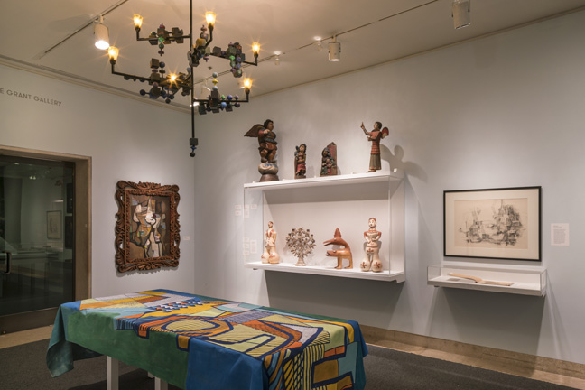 Installation view of Roberto Burle Marx: Brazilian Modernist, May 6 Ð September 18, 2016.