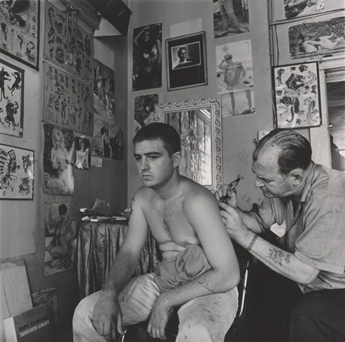 2015, Danny Lyon, Tattoo