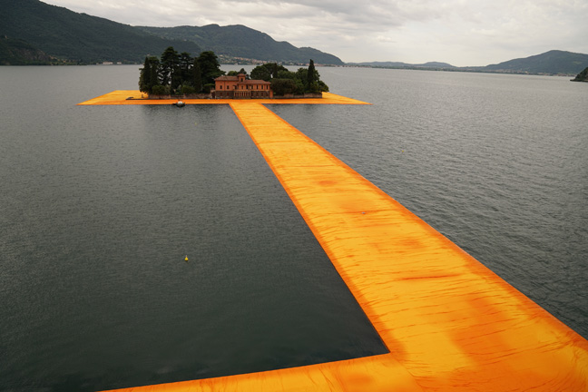 The Floating Piers - The Floating Piers, Lake Iseo, Italy, 2014-16-2