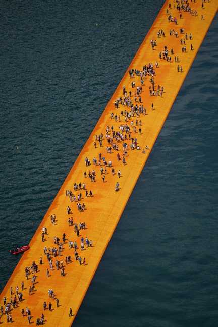 The Floating Piers - The Floating Piers, Lake Iseo, Italy, 2014-16-4