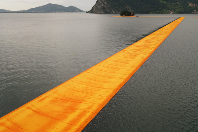 The Floating Piers - The Floating Piers, Lake Iseo, Italy, 2014-16-5
