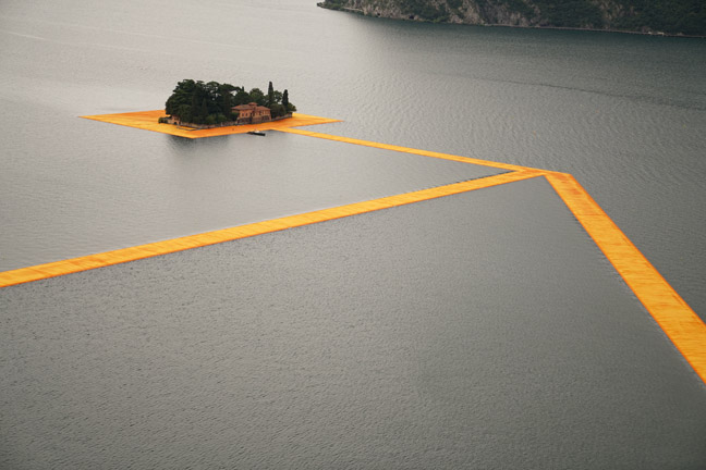 The Floating Piers - The Floating Piers, Lake Iseo, Italy, 2014-16-6