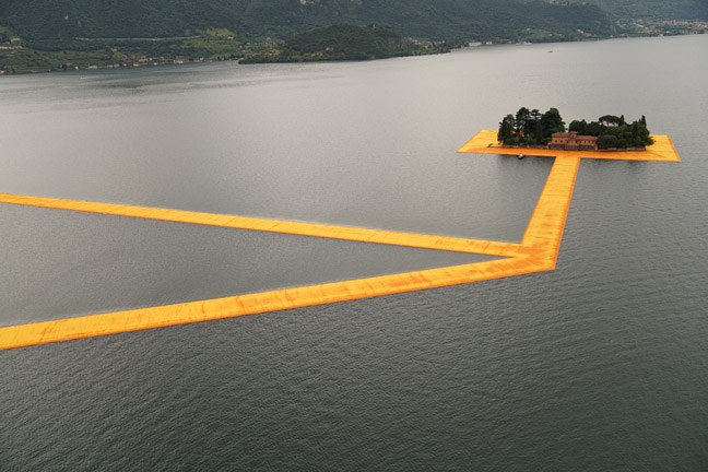 The Floating Piers - The Floating Piers, Lake Iseo, Italy, 2014-16-7