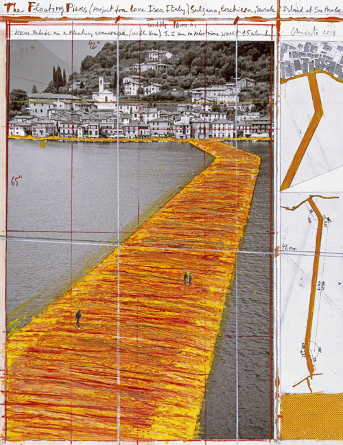 The Floating Piers - The Floating Piers (Project for Lake Iseo, Italy)-3