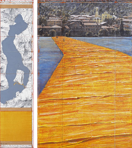 The Floating Piers - The Floating Piers (Project for Lake Iseo, Italy)-4