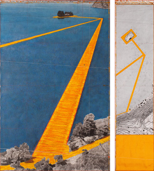 The Floating Piers - The Floating Piers (Project for Lake Iseo, Italy)-8