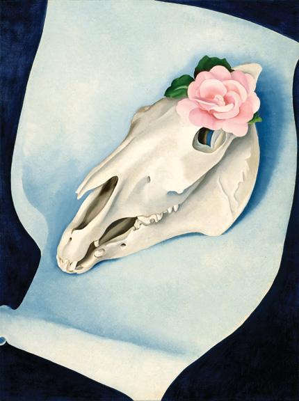O'Keeffe - Horse's skull - LACMA