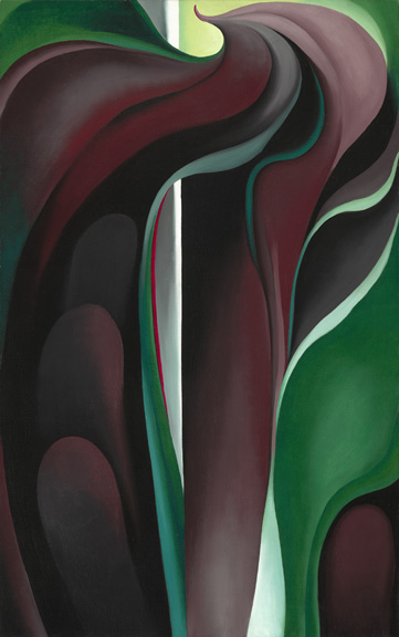 O'Keeffe - Jack in pulpit abstraction no. 5 - NGA