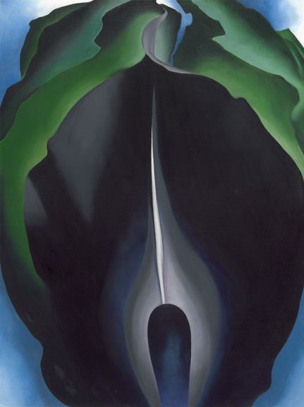 O'Keeffe - Jack in pulpit no. iv - NGA